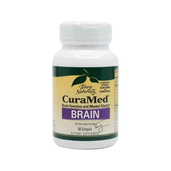 Curcumin-supplement-curamed-brain-60-softgels