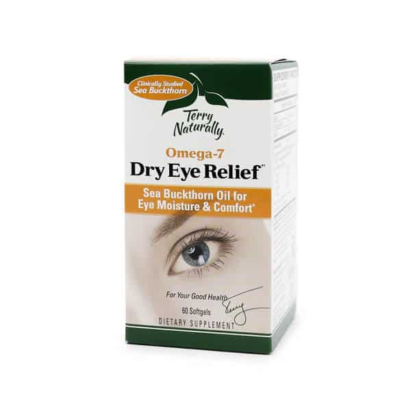 Terry Naturally Omega-7 Dry Eye Relief The Healthy Place Madison WI