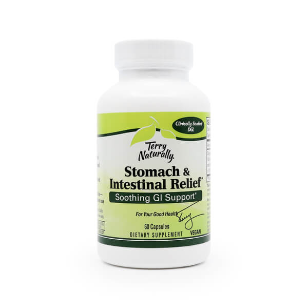 Stomach and Intestinal Relief Terry Naturally The Healthy Place Madison WI