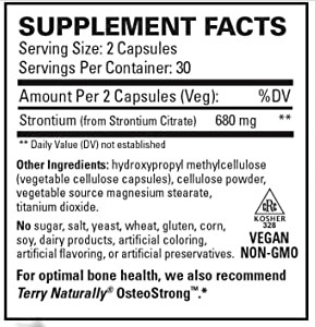 Strontium Terry Naturally The Healthy Place Madison WI