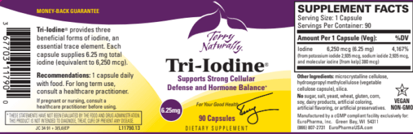 iodine-supplement-for-thyroid-terry-naturally-tri-iodine-6.25mg-90-capsules-label