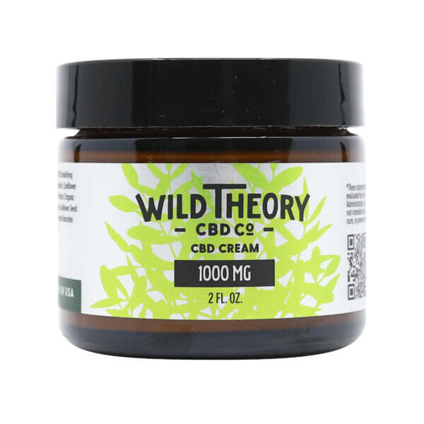 Wild Theory CBD Cream 1000mg 2floz