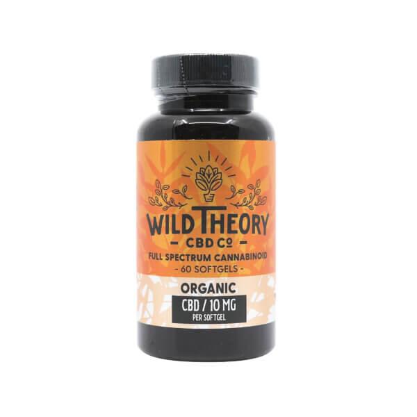 Wild Theory CBD Full Spectrum CBD Capsules 10mg 60ct