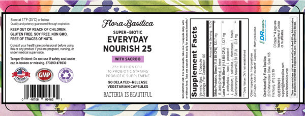 Flora Basilica Everyday Nourish 25 The Healthy Place Madison WI