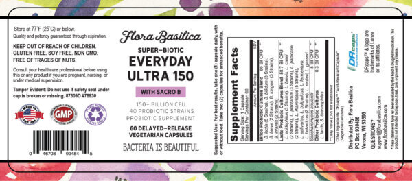 probiotics-supplement-flora-basilica-everyday-ultra-150-billion-60-capsules