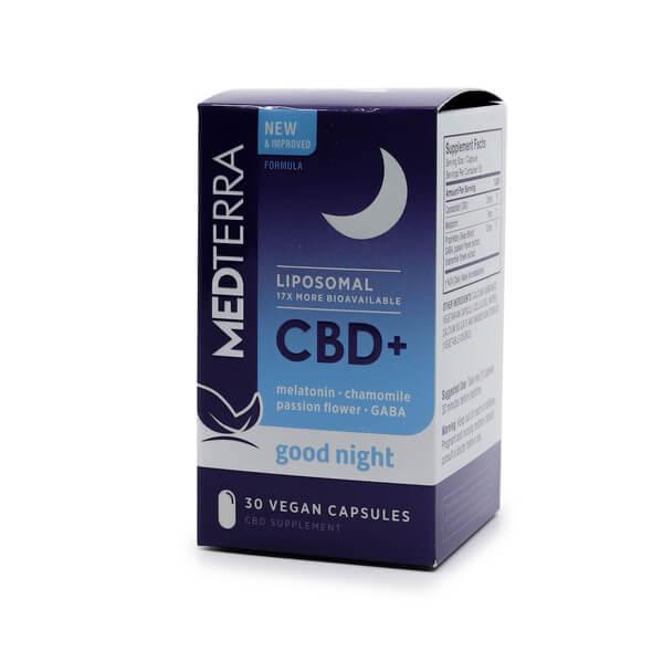 Medterra CBD + Melatonin Sleeping Pills The Healthy Place Madison WI