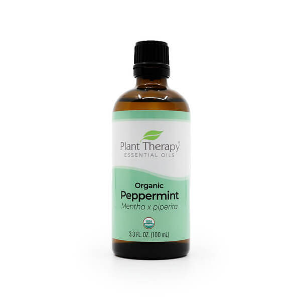 Plant Therapy Organic Peppermint Essential Oil 100mL the Healthy Place Madison WI