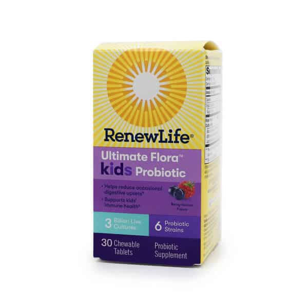 Renew Life Ultimate Flora Kids Probiotic 3 Billion Berry-licious The Healthy Place Madison WI
