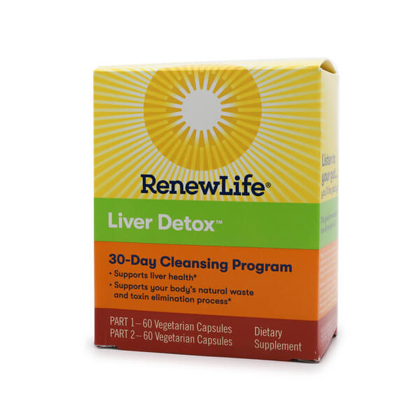 Renew Life Liver Detox 2-Part 30 Day Program The Healthy Place Madison WI