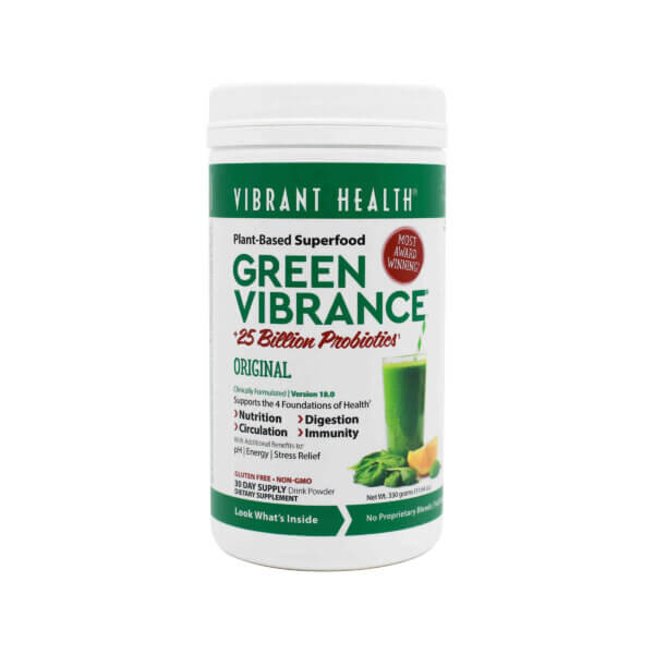 superfood supplement vibrant health green vibrance available at the healthy place