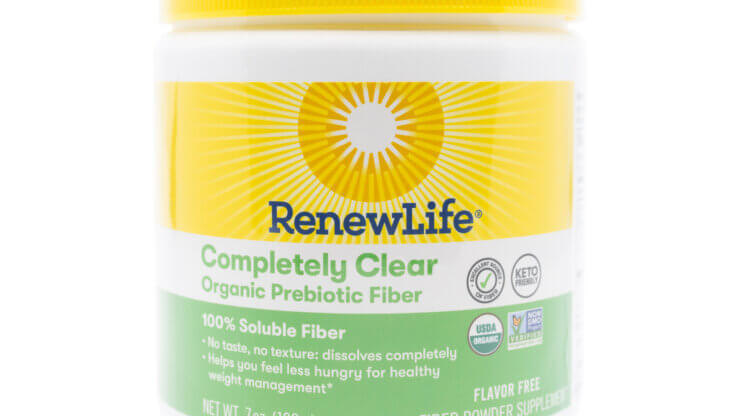 Renew Life Completely Clear Prebiotic Fiber 7oz (previously known as Clear Fiber)