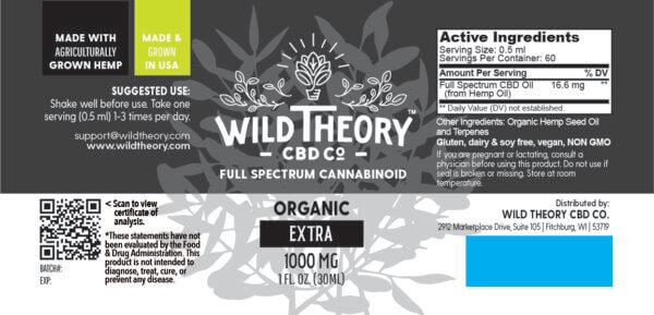cbd hemp extract 1000mg the healthy place madison wi