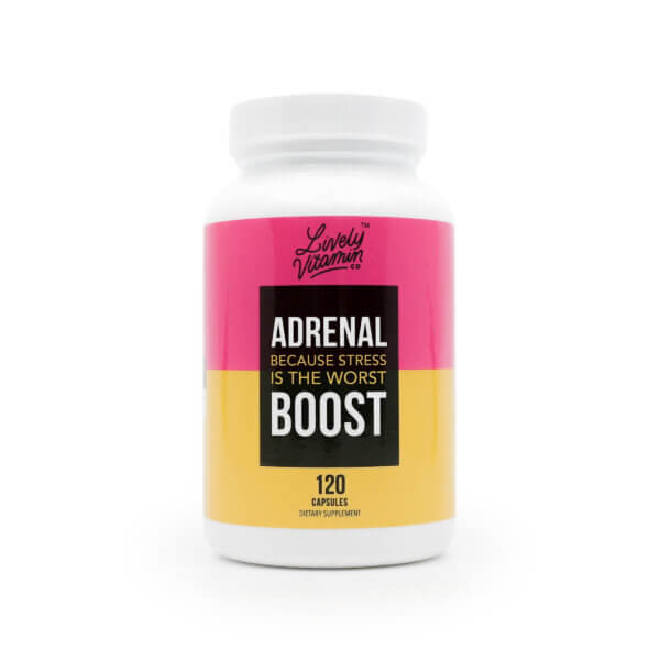 Lively Adrenal Boost 120 capsules