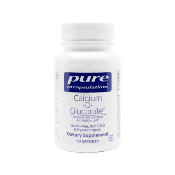 pure encapsulations calcium-d-glucarate detox supplement madison wi