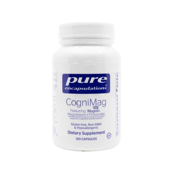 pure encapsulations cognimag brain supplement brain support madison wi