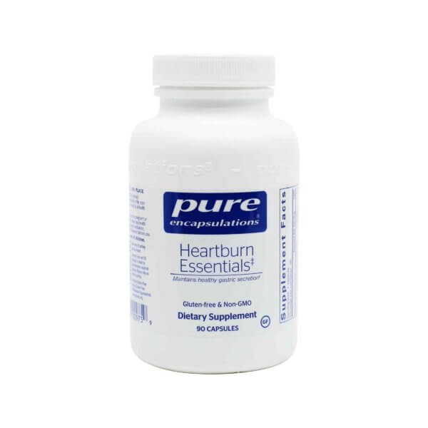 pure encapsulations heartburn relief essentials heartburn remedy madison wi