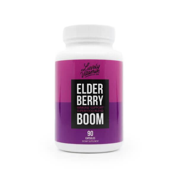 Lively Elderberry Boom 180 capsules