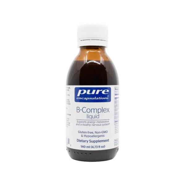 pure encapsulations liquid b complex liquid vitamin b madison wi the healthy place