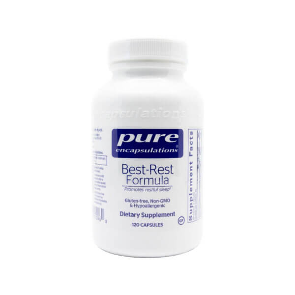 pure encapsulations best rest formula natural sleep aid madison wi the healthy place