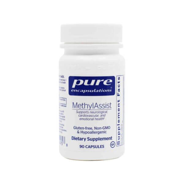 pure encapsulations methylassist methylation supplement methylated b12 madison wi
