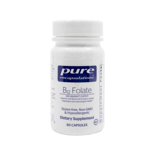 pure encapsulations b12 folate folic acid and vitamin b12 madison wi the healthy place