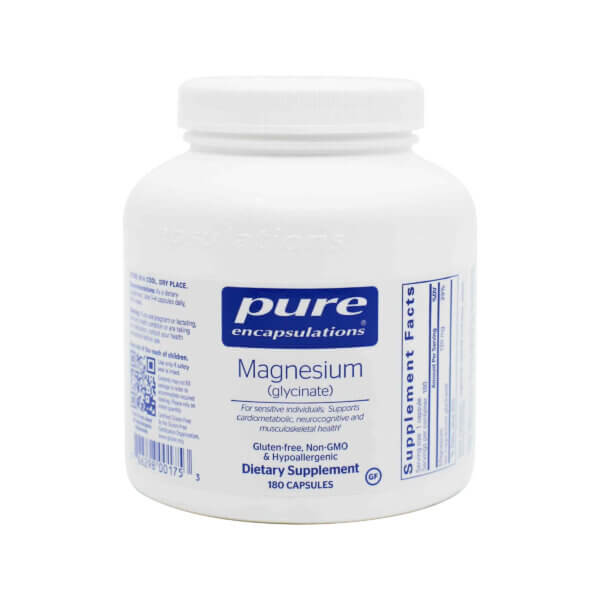 pure encapsulations magnesium glycinate supplement madison wi the healthy place