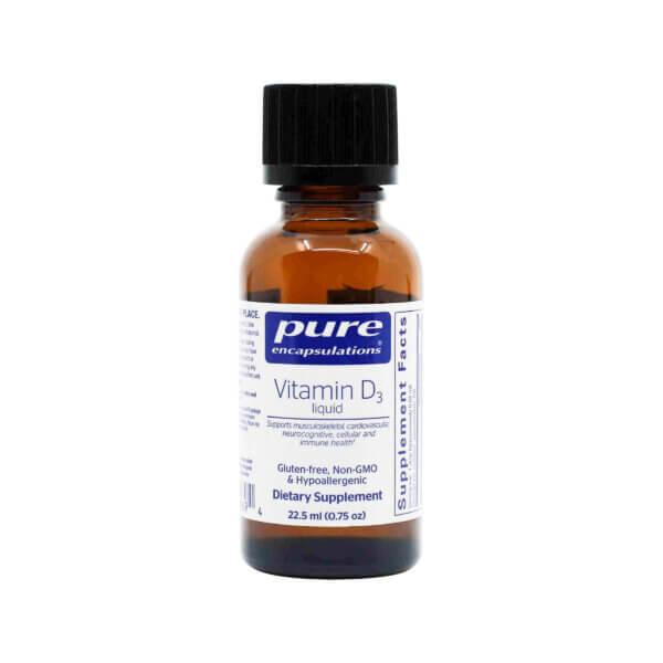 pure encapsulations vitamin D3 liquid vitamin d3 liquid drops madison wi