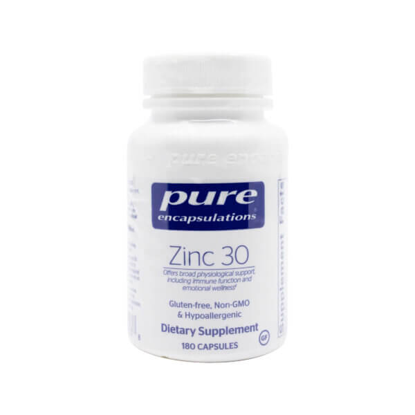 Pure Encapsulations Zinc 30 the Healthy Place Madison WI