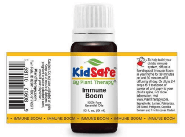 Plant Therapy Immune Boom KidSafe Essential Oil Essential Oils for Immune System