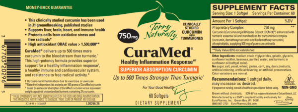Terry Naturally CuraMed® 750mg The Healthy Place Madison WI