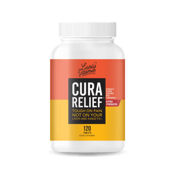 CuraRelief Best Curcumin Supplement | Lively Vitamin Co.