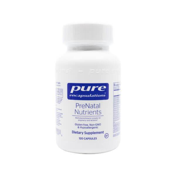 pure encapsulations prenatal nutrients prenatal multivitamin madison wi