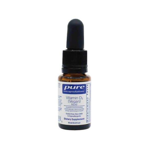 pure encapsulations vegan vitamin d liquid vitamin d3 supplement madison wi