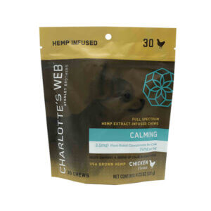 charlotte's web calming chews for dogs chicken flavor madison wi the healthy place