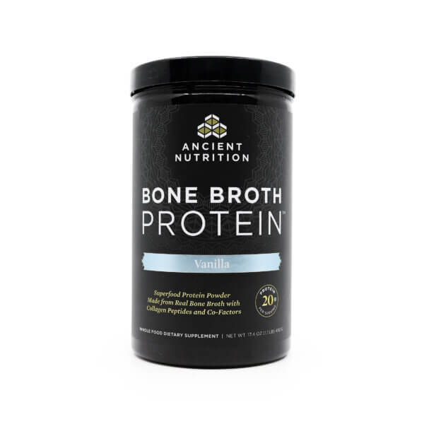 Ancient Nutrition Bone Broth Protein Vanilla The Healthy Place Madison WI