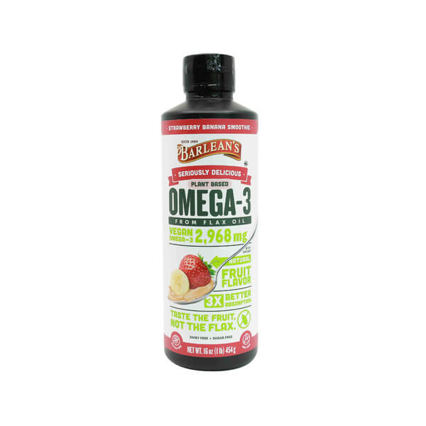 barlean's seriously delicious omega 3 flax oil strawberry madison wi