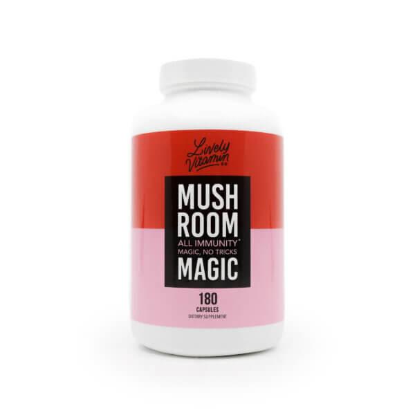 Lively Mushroom Magic 180 capsules