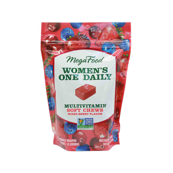 megafood women's multivitamin chews mixed berry madison wi the healthy place