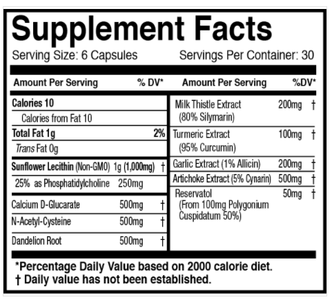 Liver Formula the healthy place madison wi supplement store