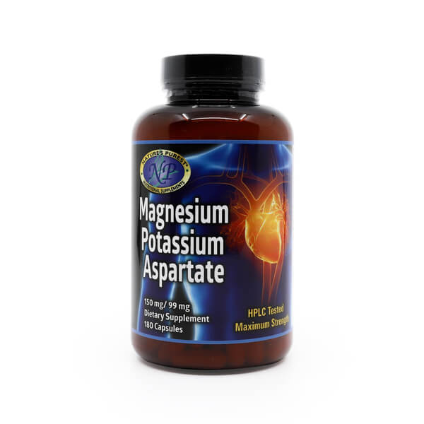 Magnesium Potassium Aspartate NP The Healthy Place Madison WI