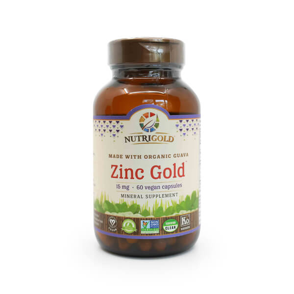 nutrigold zinc gold 15mg zinc supplement madison wi the healthy place