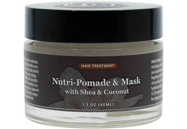 Nutri-Pomade & Mask with Shea & Coconut Qet Botanicals the healthy place madison wi
