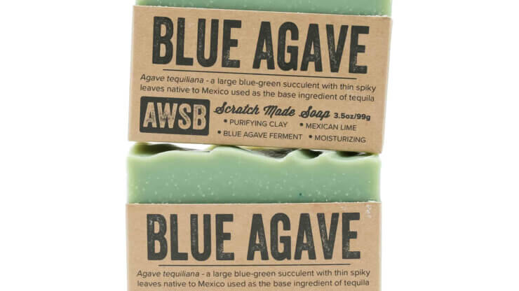 A Wild Soap Bar Blue Agave Soap natural skincare madison wi nutrition store