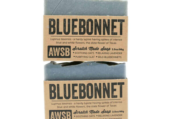 A Wild Soap Bar Bluebonnet Soap buy online natural skincare