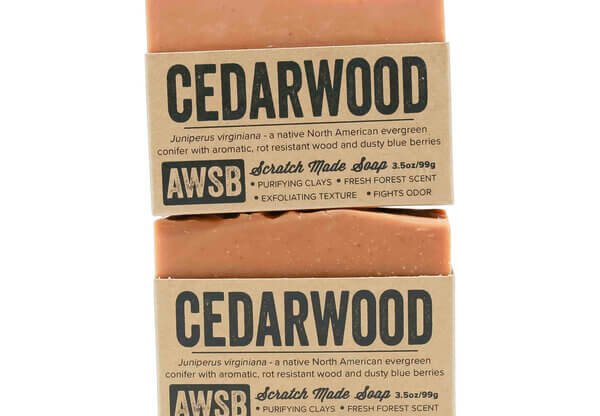 A Wild Soap Bar Cedarwood Soap buy online natural skincare products