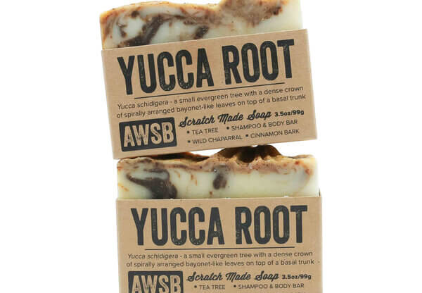 A Wild Soap Bar Yucca Root Shampoo & Body Soap buy online natural skincare