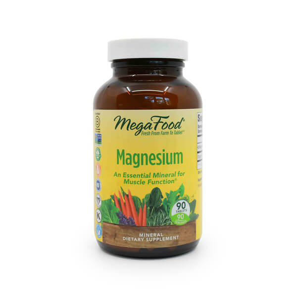 buy online MegaFood Magnesium 90 Tablets nutrition store madison wi