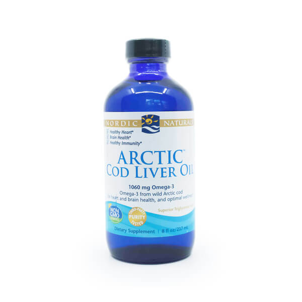 Cod Liver Oil Unflavored Nordic Naturals The Healthy Place Madison WI