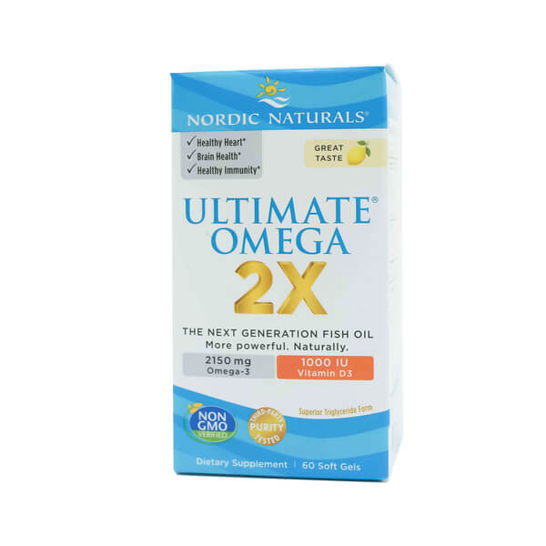 Ultimate Omega 2x with Vitamin D3 Nordic Naturals The Healthy Place Madison WI
