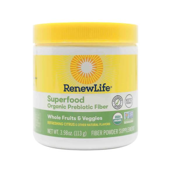 Renew Life Superfood Organic Prebiotic Fiber the healthy place sun prairie wi